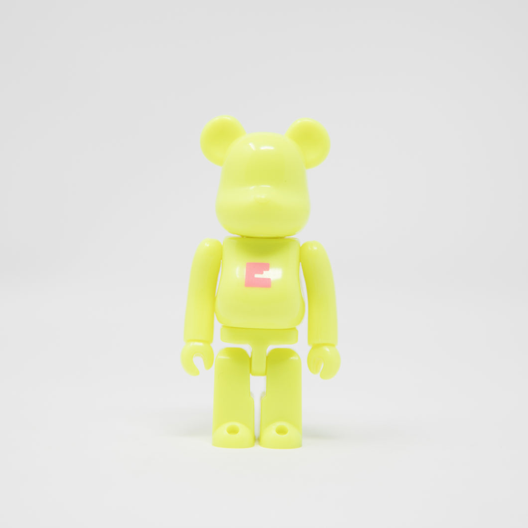 Medicom Toy BEARBRICK Volt Letter E - Basic Series 36 100% Figure (MINT)