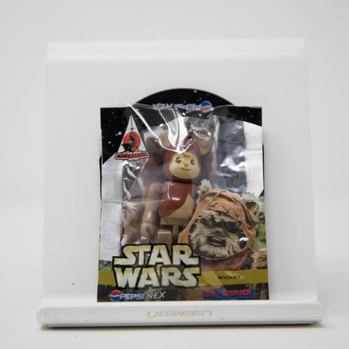 Medicom Toy BEARBRICK Star Wars Wicket / Pepsi Nex 70% Keychain Figure (MINT)