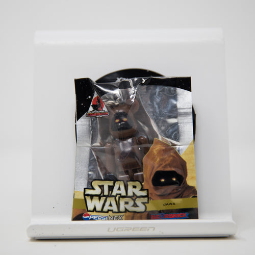 Medicom Toy BEARBRICK Star Wars Jawa / Pepsi Nex 70% Keychain Figure (MINT)
