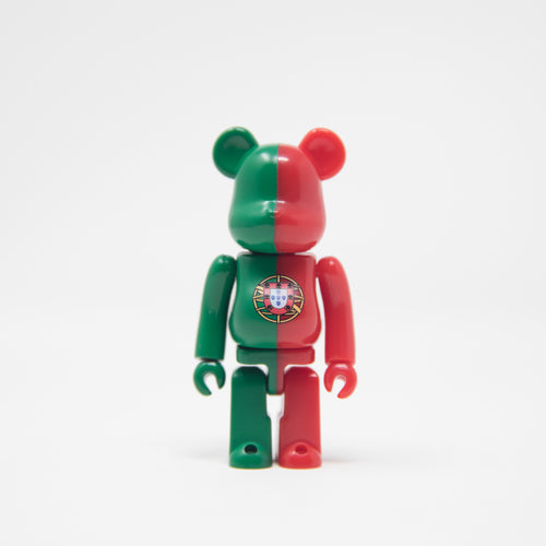 Medicom Toy BEARBRICK Portuguese - Flag Series 34 100% Figure (MINT)