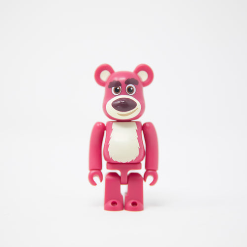 Medicom Toy BEARBRICK Lotso / Toy Story 3 - Cute Series 20 100% Figure (MINT)