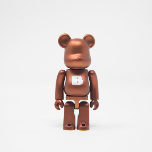 Medicom Toy BEARBRICK Bronze Letter B - Basic Series 35 100% Figure (MINT)