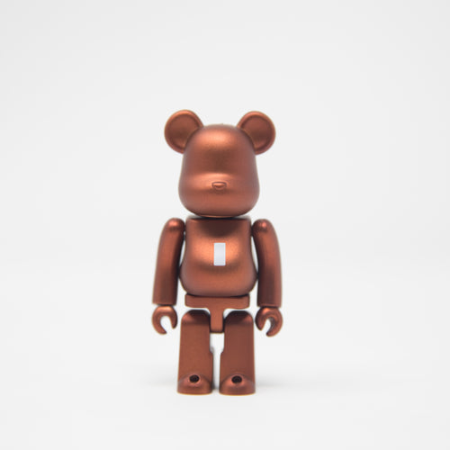 Medicom Toy BEARBRICK Bronze Letter I - Basic Series 35 100% Figure (MINT)