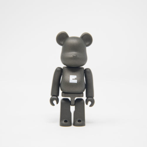 Medicom Toy BEARBRICK Black Letter E - Basic Series 33 100% Figure (MINT)