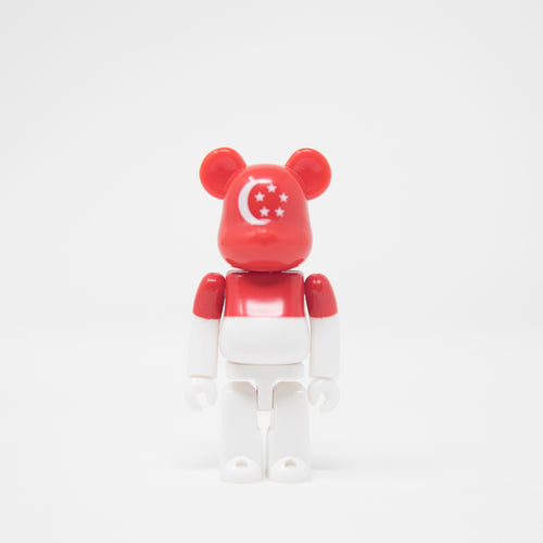 Medicom Toy BEARBRICK Singapore - Flag Series 32 100% Figure (MINT)