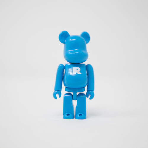 Medicom Toy BEARBRICK Blue Letter R - Basic Series 11 100% Figure (MINT)