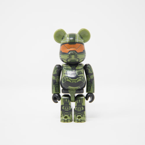 Medicom Toy BEARBRICK Master Chief / Halo - Hero Series 28 100% Figure (MINT)