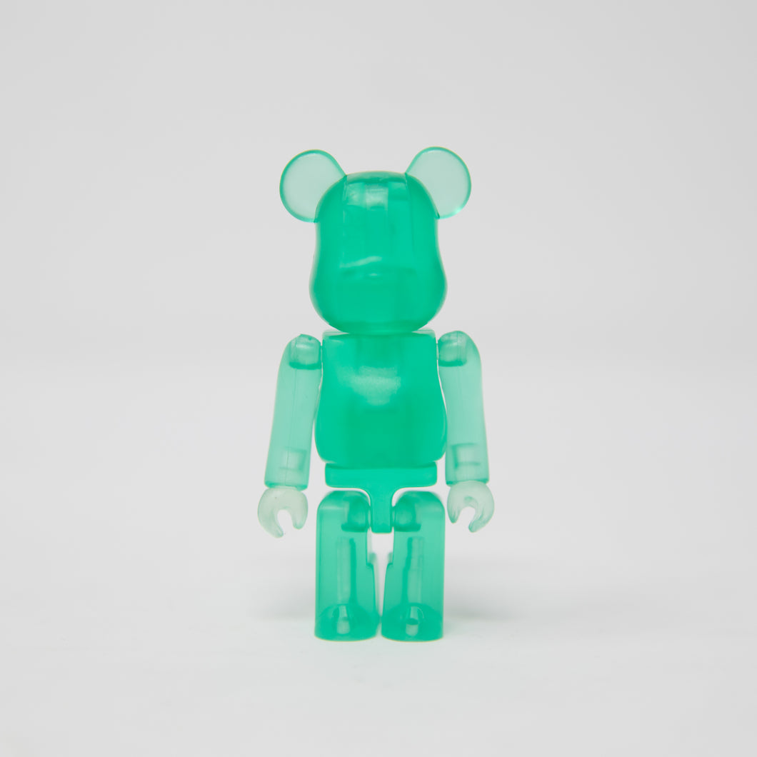 Medicom Toy BEARBRICK Green - Jellybean Series 2 100% Figure (MINT)