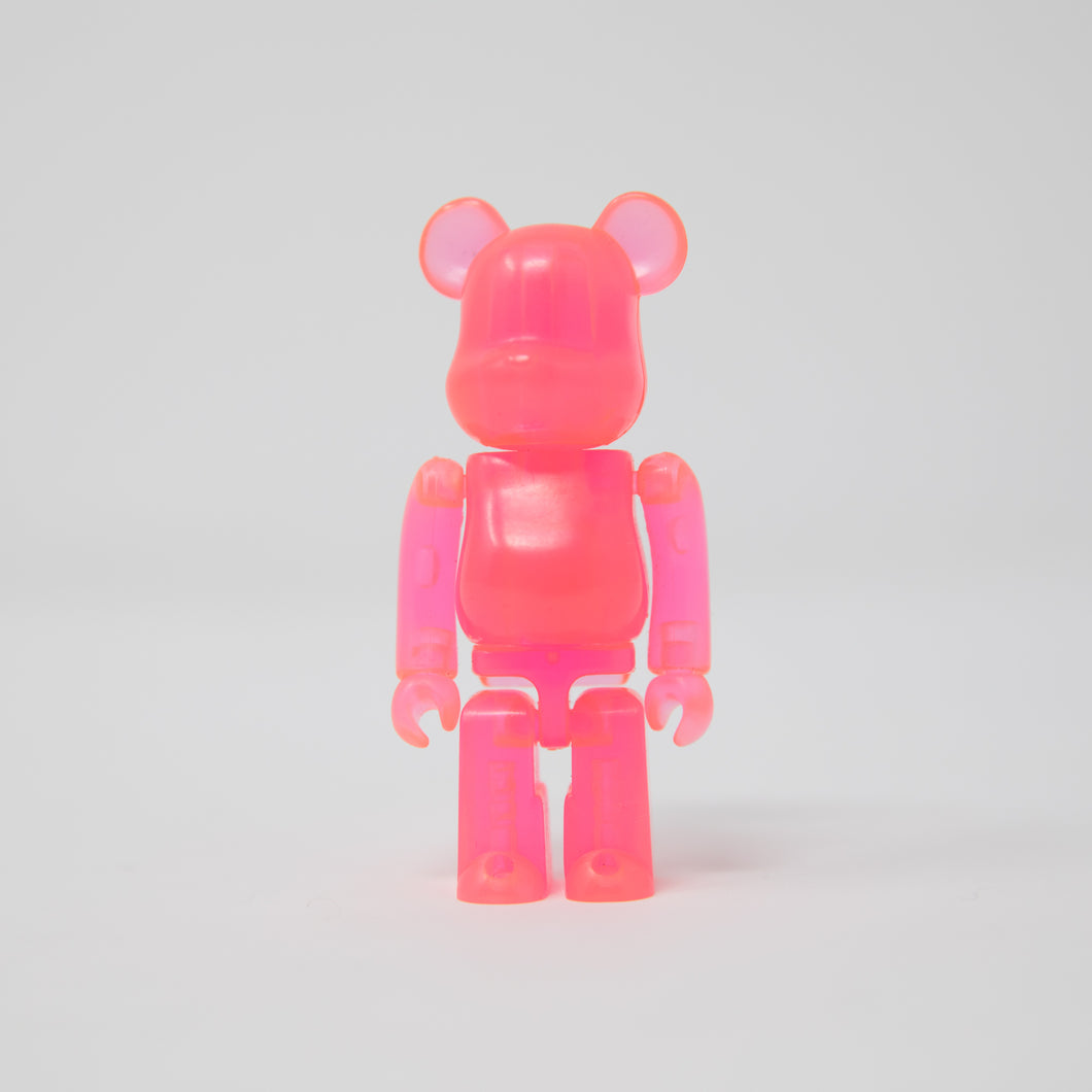Medicom Toy BEARBRICK Pink - Jellybean Series 4 100% Figure (MINT)