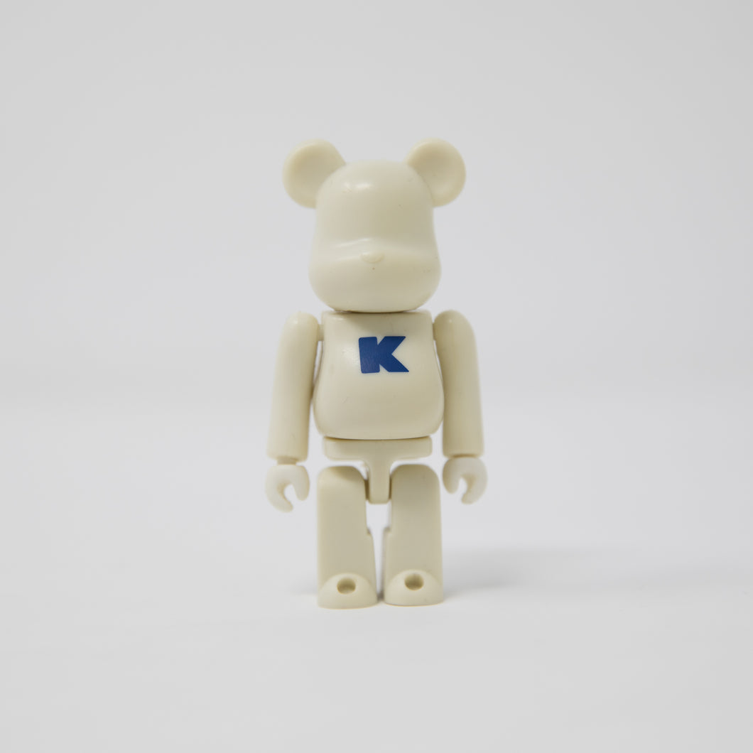 Medicom Toy BEARBRICK Tooth Letter K - Basic Series 4 100% Figure (MINT)