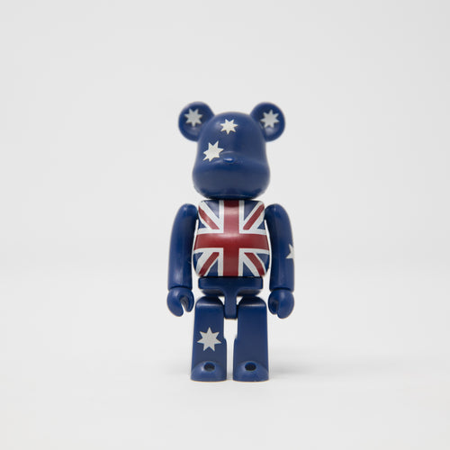 Medicom Toy BEARBRICK Australia - Flag Series 7 100% Figure (MINT)