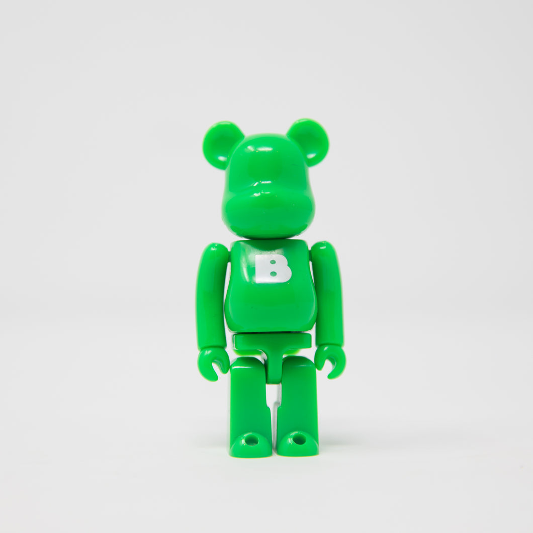 Medicom Toy BEARBRICK Green Letter B - Basic Series 9 100% Figure (MINT)