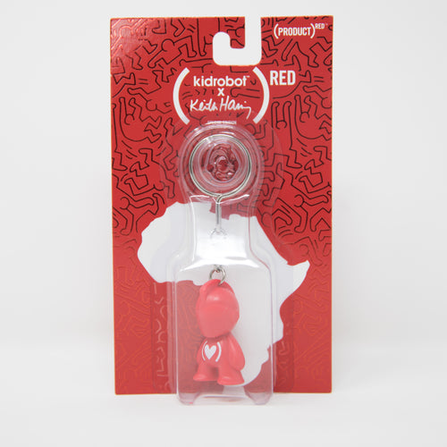 KidRobot x Keith Haring (RED) Keychain Figure (NEW)