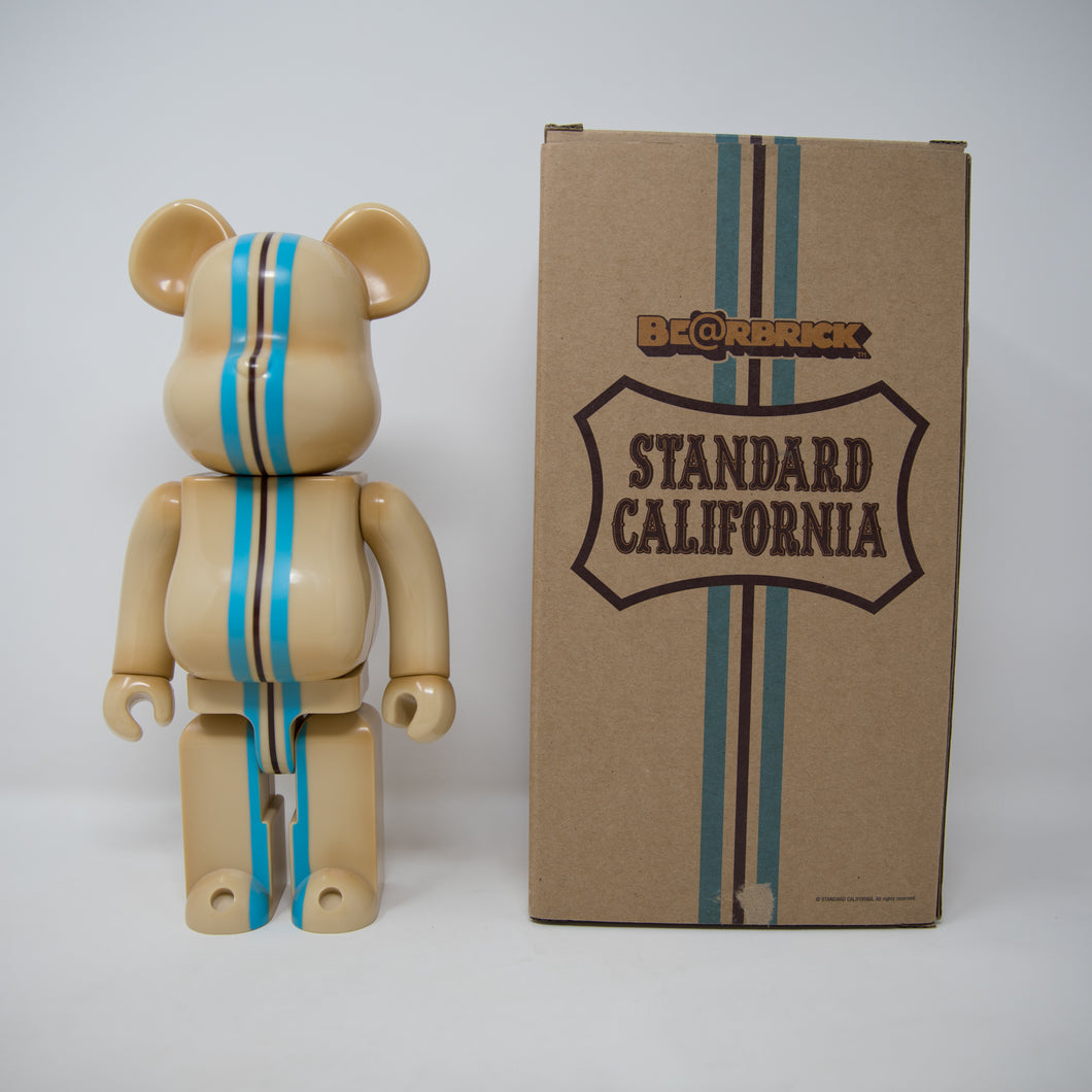 Medicom Toy BEARBRICK Standard California 400% Figure (MINT)