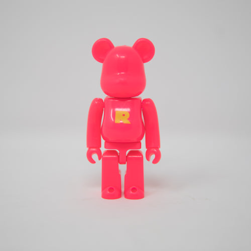 Medicom Toy BEARBRICK Pink Letter R - Basic Series 37 100% Figure (MINT)