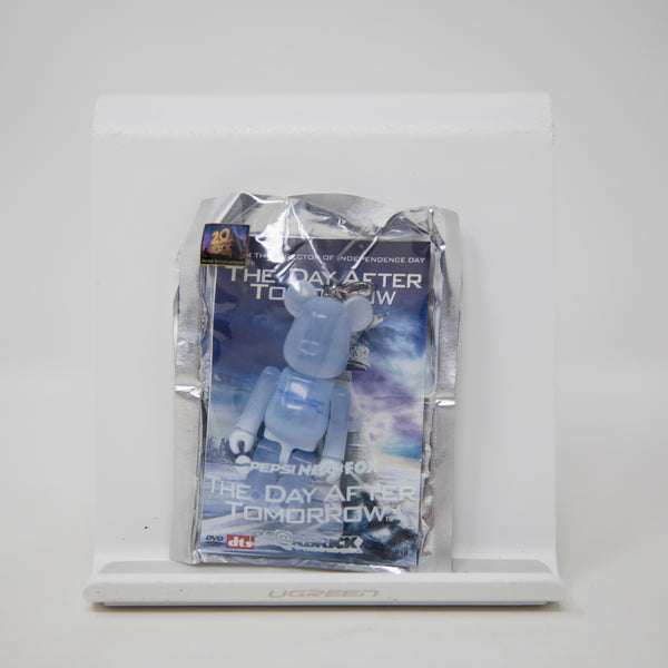Medicom Toy BEARBRICK x Pepsi NEX FOX / The Day After Tomorrow 70% Keychain Figure (MINT)