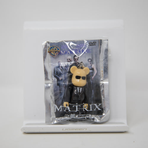 Medicom Toy  BEARBRICK x Pepsi NEX Warner Bros / The Matrix 70% Keychain Figure (MINT)