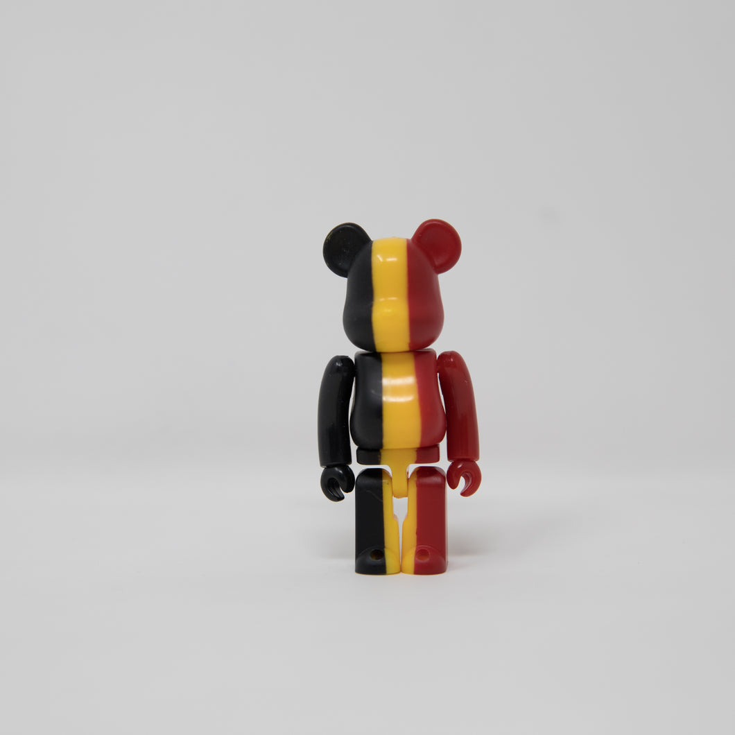 Medicom Toy BEARBRICK Belgium - Flag Series 27 100% Figure (MINT)