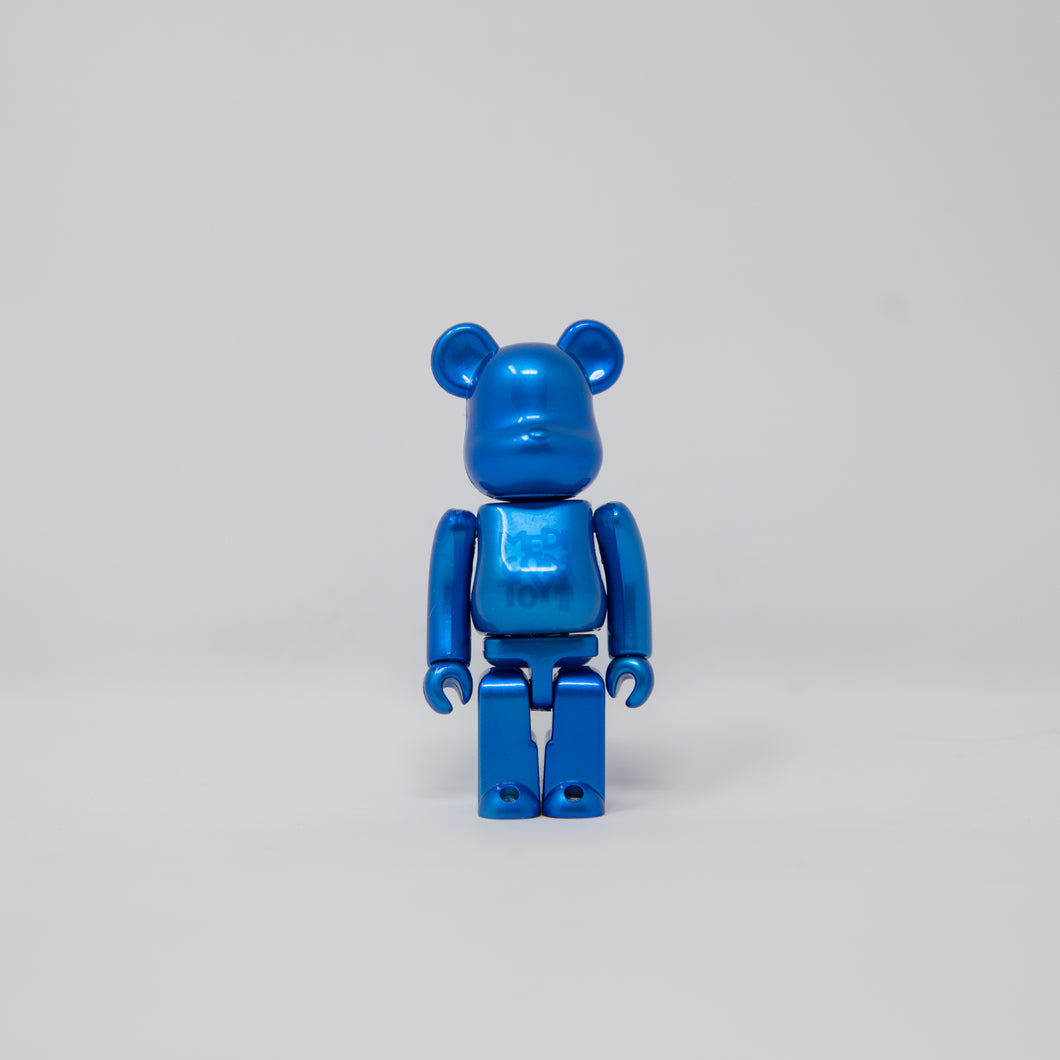Medicom Toy BEARBRICK Pearl Blue 100% Figure (MINT)