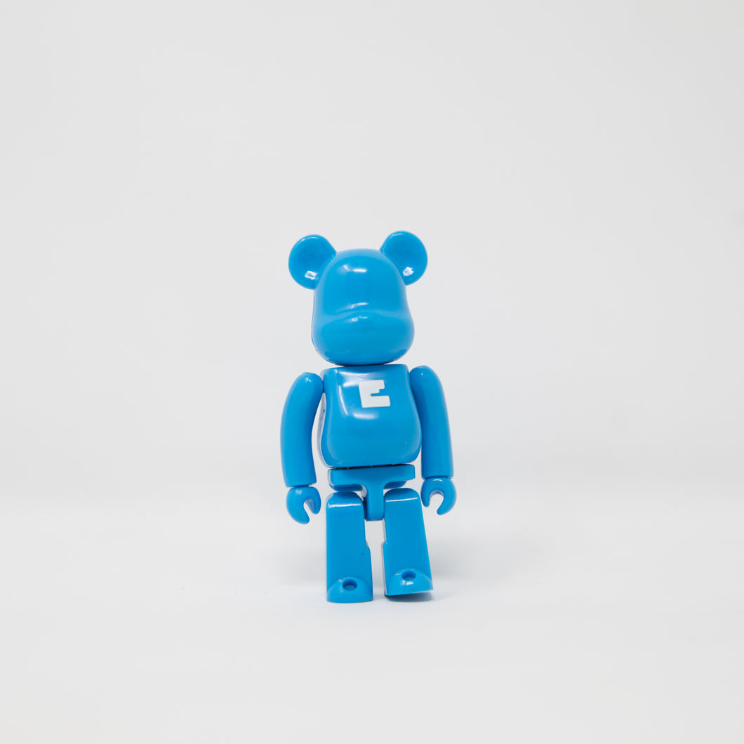 Medicom Toy BEARBRICK Blue Letter E - Basic Series 11 100% Figure (MINT)