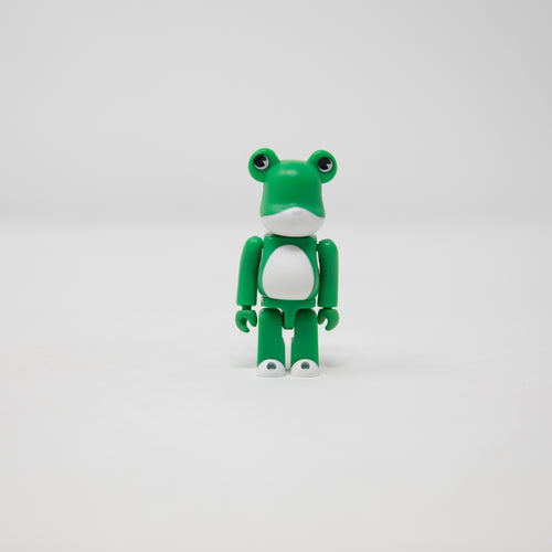 Medicom Toy BEARBRICK Frog - Animal Series 1 100% Figure (MINT)