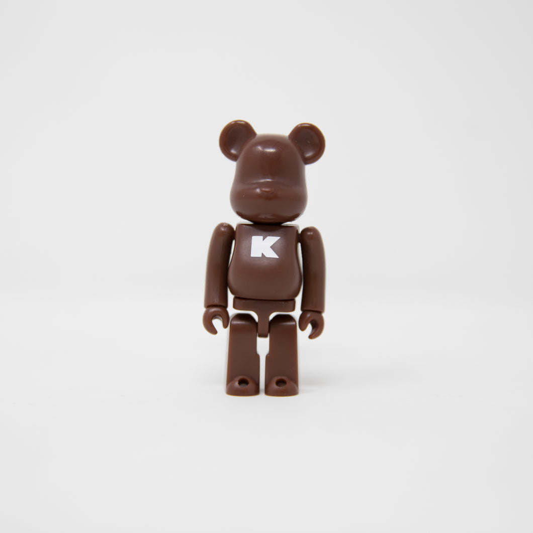 Medicom Toy BEARBRICK Brown Letter K - Basic Series 12 100% Figure (MINT)