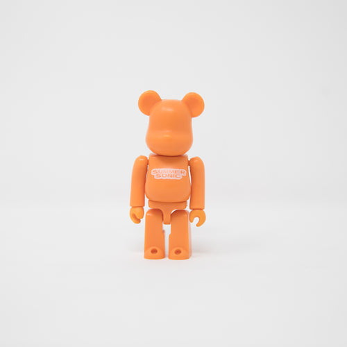 Medicom Toy BEARBRICK  Summer Sonic 01 [Orange] 100% Figure (MINT)