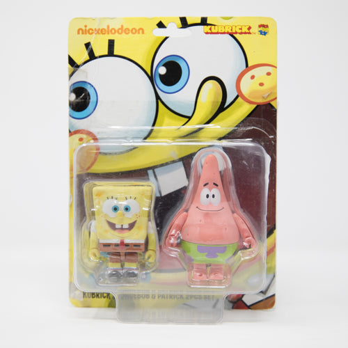 Medicom Toy Kubrick Spongebob & Patrick 2 Figures Set (NEW)