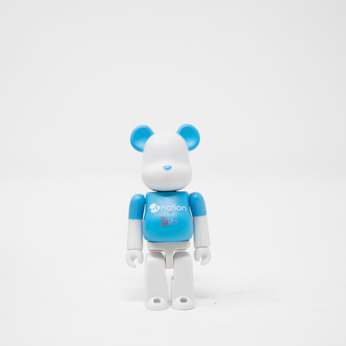 Medicom Toy BEARBRICK a-nation [10th Anniversary] 100% Figure (MINT)