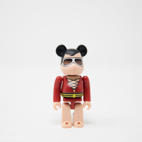 Medicom Toy BEARBRICK Plastic Man / DC Comics [Super Powers] 100% Figure (MINT)
