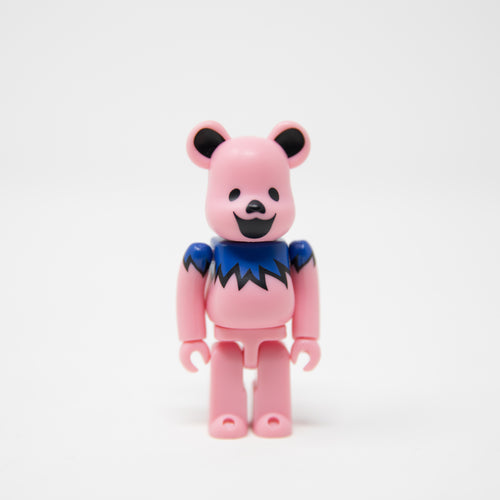 Medicom Toy BEARBRICK Grateful Dead Dancing Bears Pink 100% Figure (MINT)