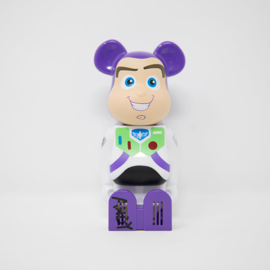Medicom Toy BEARBRICK Disney Pixar Buzz Lightyear - Cleverin Figure (MINT)