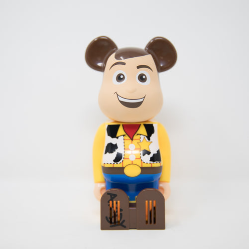 Medicom Toy BEARBRICK Disney Pixar Woody - Cleverin Figure (MINT)