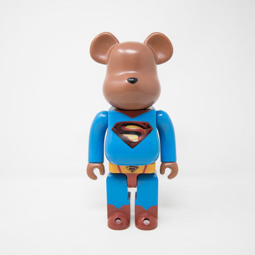 Medicom Toy BEARBRICK Superman Returns 2006 400% Figure (MINT)