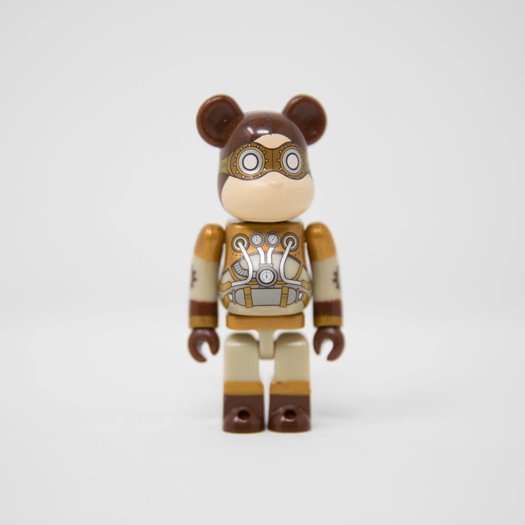 Medicom Toy BEARBRICK Steampunk - SF Series 30 100% Figure (MINT)