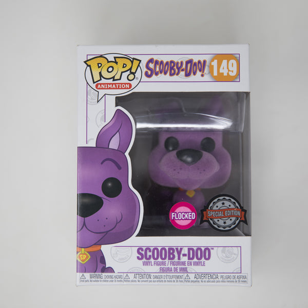 Funko POP! Scooby-Doo! #149 - Scooby-Doo Purple Flocked Special Edition (NEW)