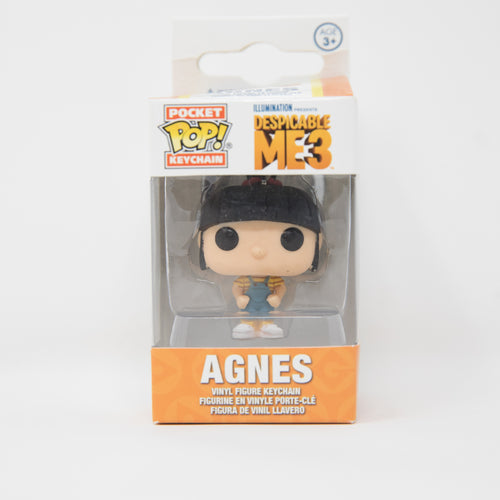 Funko Pop Keychain - Despicable Me 3 - Agnes Vinyl Figure