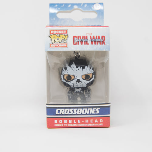 Funko Pop Keychain - Captain America: Civil War - Crossbones Vinyl Figure