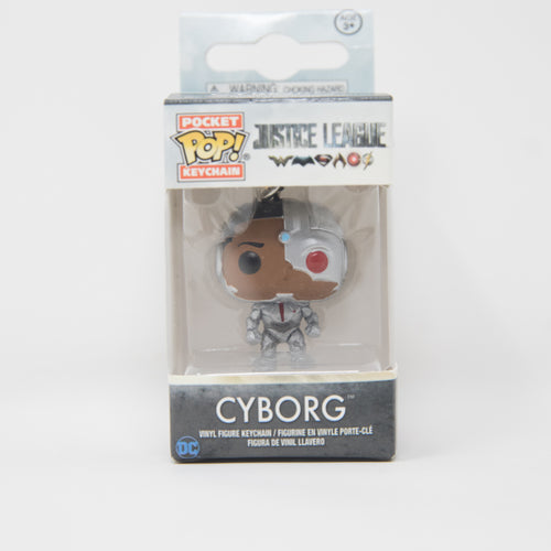 Funko Pop Keychain - Justice League - Cyborg Vinyl Figure
