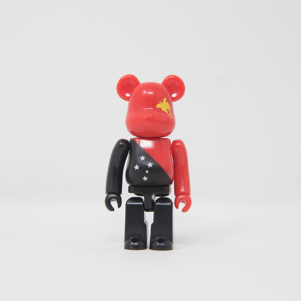 Medicom Toy BEARBRICK Papua New Guinea - Flag Series 39 100% Figure