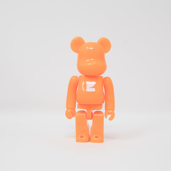 Medicom Toy BEARBRICK Orange Letter E - Basic Series 39 100% Figure