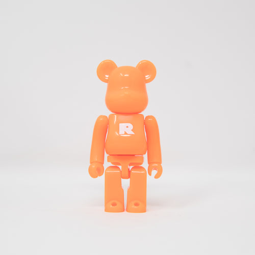 Medicom Toy BEARBRICK Orange Letter R - Basic Series 39 100% Figure