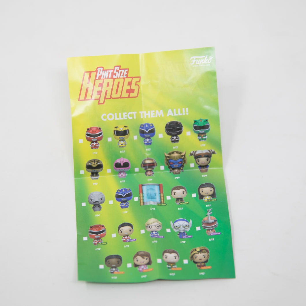 Details about  /Funko MIGHTY MORPHIN POWER RANGERS Pint Size Heroes Blind Bag Vinyl Figure