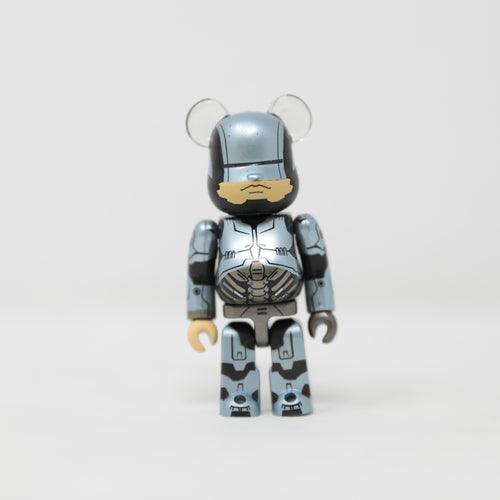 Medicom Toy BEARBRICK RoboCop 1.0 - SF Series 27 100% Figure (MINT)