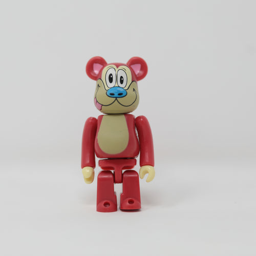 Medicom Toy BEARBRICK Stimpy / The Ren & Stimpy Show - Horror Series 18 100% Figure (MINT)