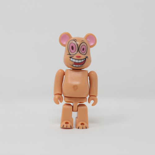 Medicom Toy BEARBRICK Ren / The Ren & Stimpy Show - Horror Series 18 100% Figure (MINT)