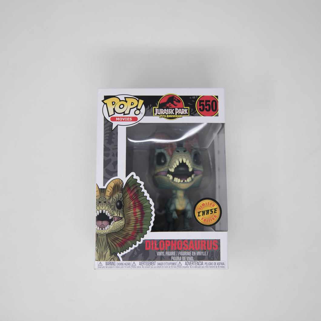 Funko POP! Jurassic Park #550 - Dilophosaurus - Chase Limited Edition (NEW)