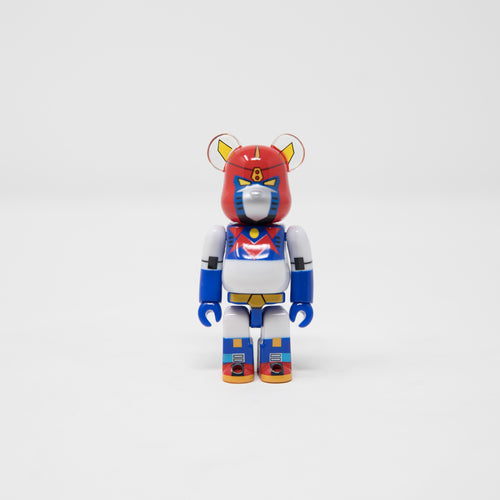 Medicom Toy BEARBRICK Voltes V Mazinger Z - SF Series 38 100% Figure (MINT)