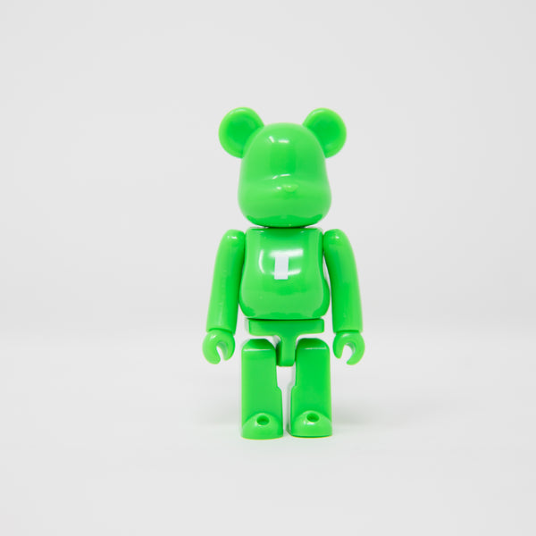 Medicom Toy BEARBRICK Green Letter I - Basic Series 38 100% Figure (MINT)