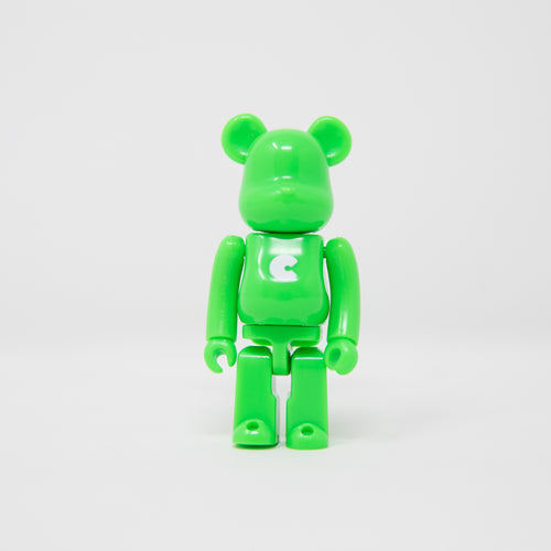 Medicom Toy BEARBRICK Green Letter C - Basic Series 38 100% Figure (MINT)